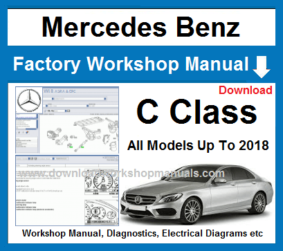 Mercedes C Class Workshop Service Repair Manual